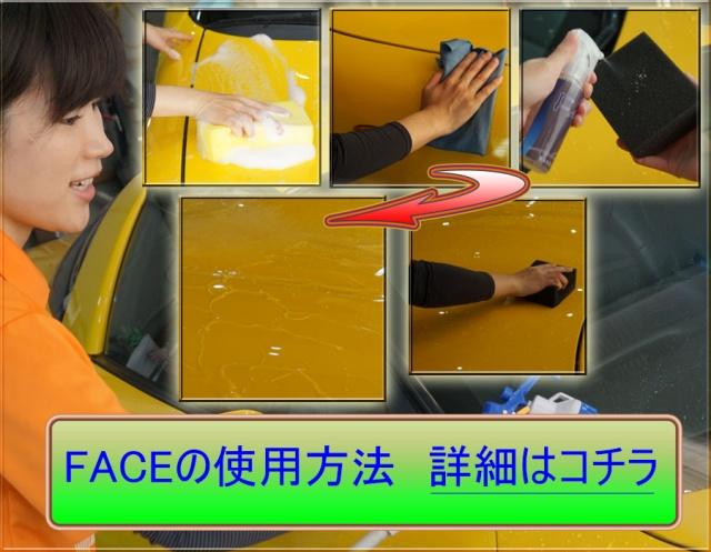 FACEの使用方法(動画あり)